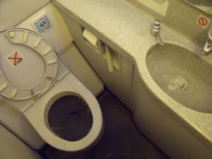 Aircraft bathroom